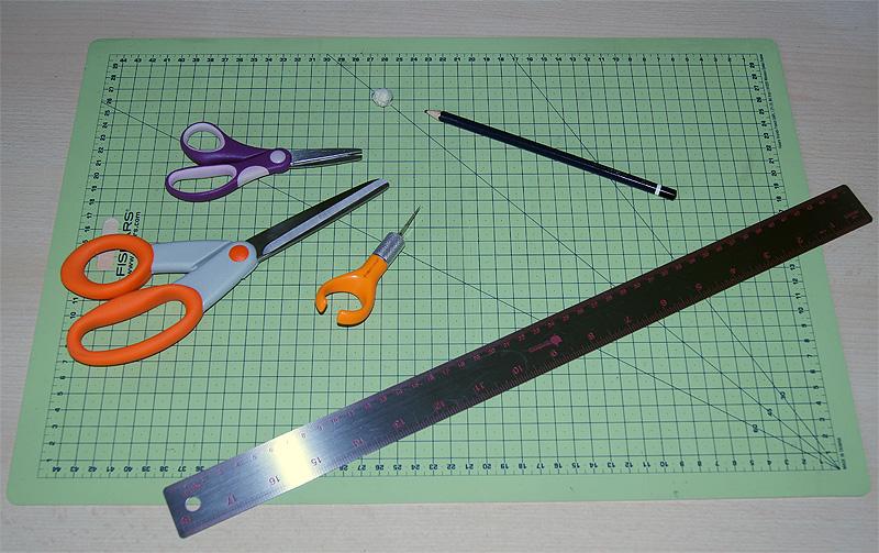 Card making - basic tool kit