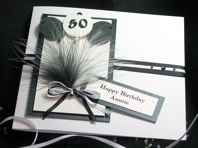 Manhattan Black & White Birthday card
