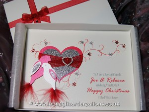 Christmas Duet - Luxury Handmade Card