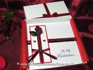 Be My Valentine - With Single Red Rose