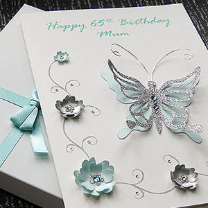 Picture featuring a Birthday card