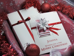 'Christmas Eve' Luxury Handmade Christmas Card