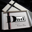 Boston - Handmade Luxury Father's Day Card