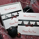 'Christmas Glitz - Pack 2' Handmade Christmas Card Pack