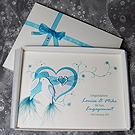 Duet - Luxury Handmade Engagement Card