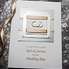 With This Ring - Handmade Wedding Card