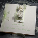 'Chloe' - Handmade Luxury Wedding Card
