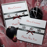 'Christmas Glitz - Pack 1' Handmade Christmas Card Pack