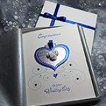 'Cinderella' - Handmade Luxury Wedding Card