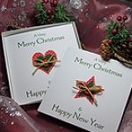 'Country Christmas' Handmade Christmas Card Pack