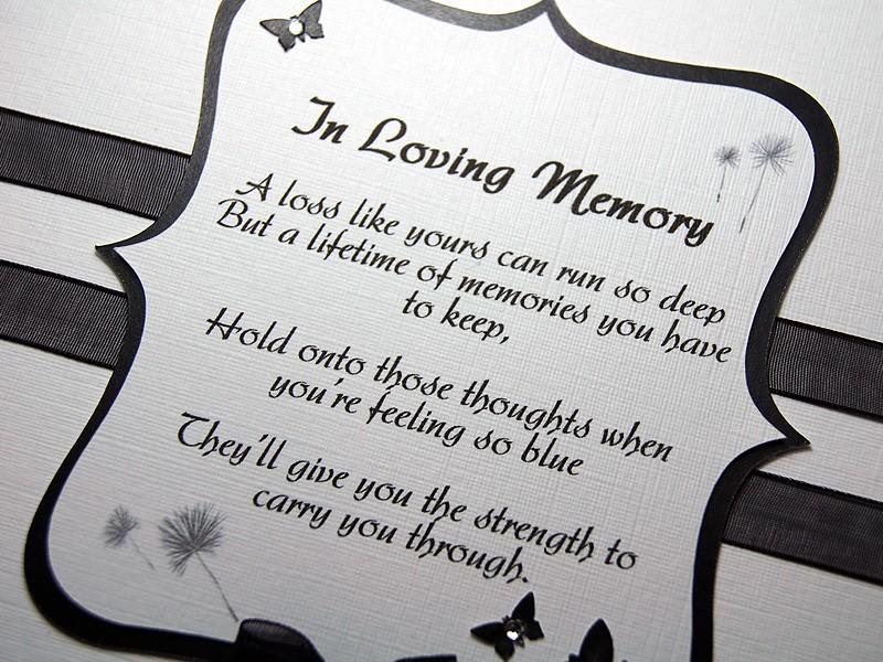 Amara Handmade Sympathy Card