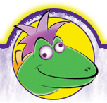 Looney Lizard brand logo