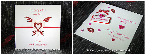 Two new valentines cards (Romance and Do not disturb)