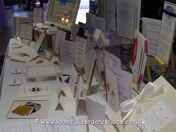 Our Wedding Stationery at the Calcot Wedding Fayre
