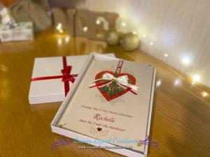 Festive Christmas Card Designs – Mistletoe Kisses and Angus