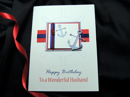 Ahoy! - Uses a traditional nautical colour scheme of red, blue and white.