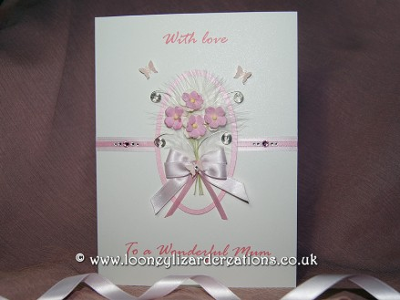 Amelia - Luxury handmade mothers day card