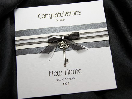 Kensington Black New Home Card