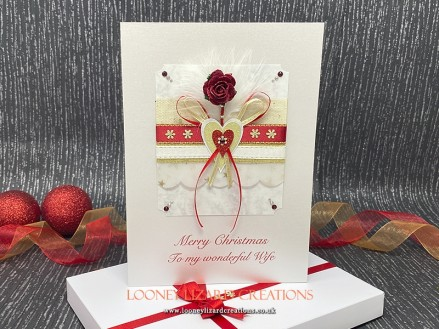 Christmas Romance - limited edition with only six available, each individually numbered.