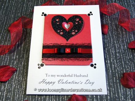Tenderness: Personalise with your own special Valentines greeting and message for FREE