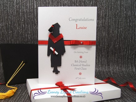 The Graduate Female - Luxury Boxed Graduation Card