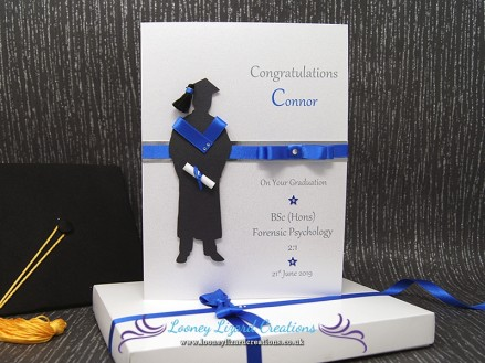The Graduate Male - Luxury Boxed Graduation Card