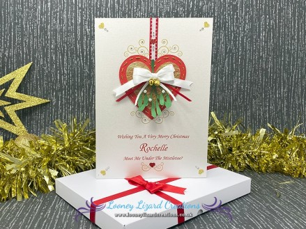 Mistletoe Kisses - Steal a kiss or two from your special someone this festive season