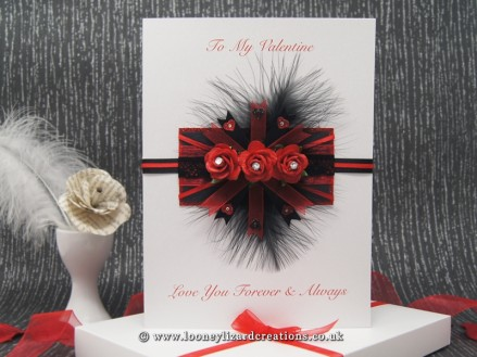 Passion - Luxury Boxed Valentines Card