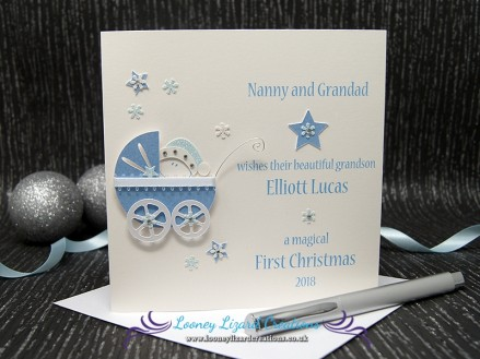 A Precious Christmas - Each card is handmade to order.