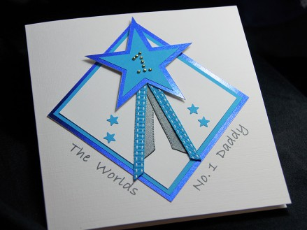 Star Dad - Perfect for childen to send their dad or 1st Fathers Day