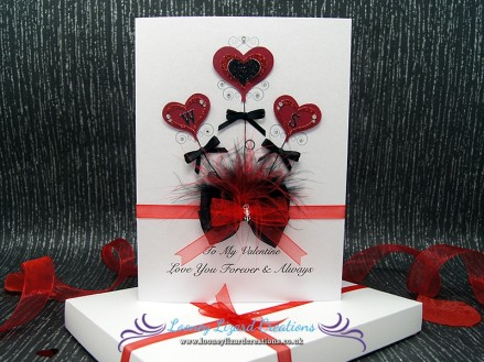 Valentine Bouquet - Includes a beautifully hand decorated gift box.
