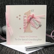 First Christmas - Handmade Christmas Card