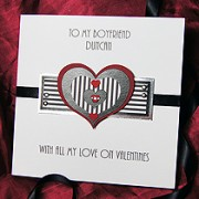 Athos - Handmade Valentines Card