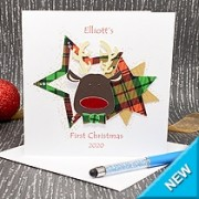 Baby Reindeer - First Christmas Card