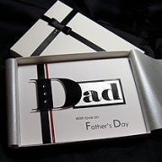 Boston - Luxury Handmade Fathers Day Card