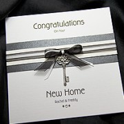 Kensington - Handmade New Home Card