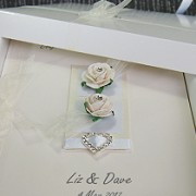 Chloe - Handmade Luxury Wedding Card