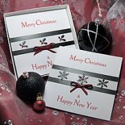 Christmas Glitz - Handmade Christmas Card Pack