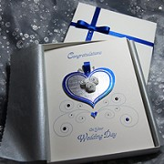 Cinderella - Handmade Luxury Wedding Card