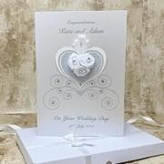 Cinderella - Handmade Luxury Wedding Card