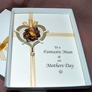Darcy - Luxury Handmade Mothers Day Card