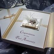 Kirika - Handmade Luxury Anniversary Card
