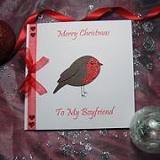 Lil' Robin - Handmade Christmas Card