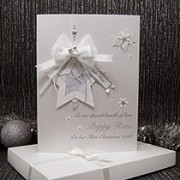 Little Jingle Bells - Luxury Baby's 1st Christmas Card