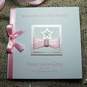 Little Star - Handmade New Baby Card