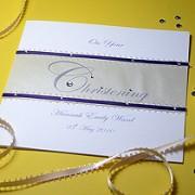 Serenity - Handmade Christening Card
