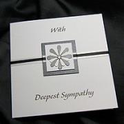 Sorrow - Handmade Sympathy Card