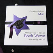 Star Achievement - Handmade Graduation Card