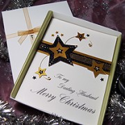 Stardust - Luxury Handmade Christmas Card