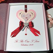 Sweet Rapture - Luxury Handmade Valentines Card